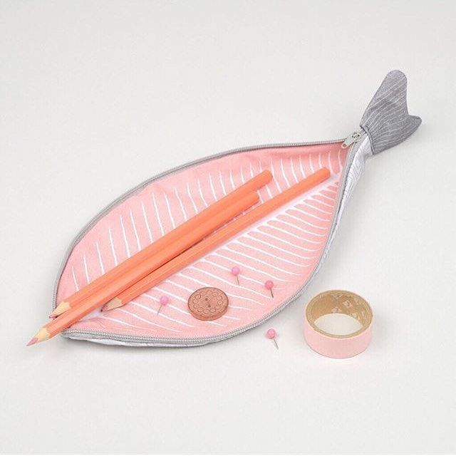 Don Fisher cute fish pencil case