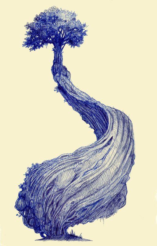 bic pen, treebic.jpg (513×800)