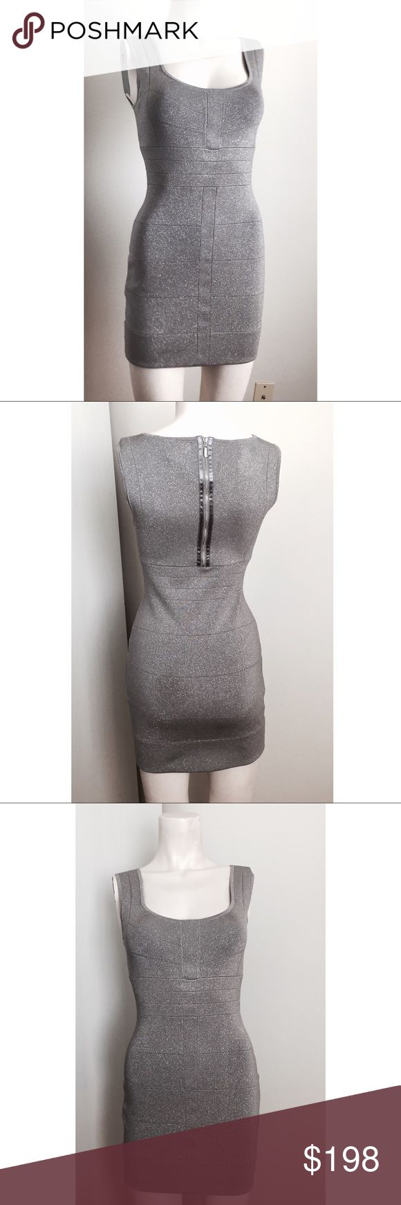 🎬 Laundry by Shelli Segal silver bodycon dress Gorgeous silver bodycon dress by Laundry by Shelli Segal. Was used in the TV show Devious Maids. Purchased from the ABC costume department. Has the ABC Asset Sku still inside the garment. Zipper in back. #9021705 Laundry By Shelli Segal Dresses