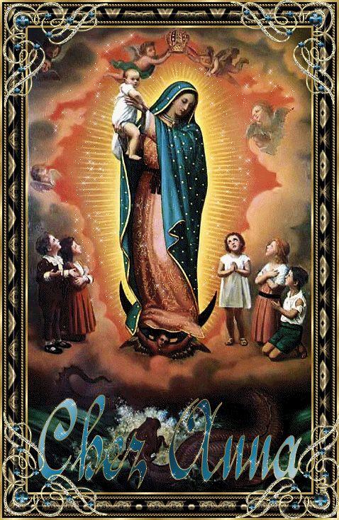 Prière à Notre Dame de Guadalupe-Fête Décembre 12