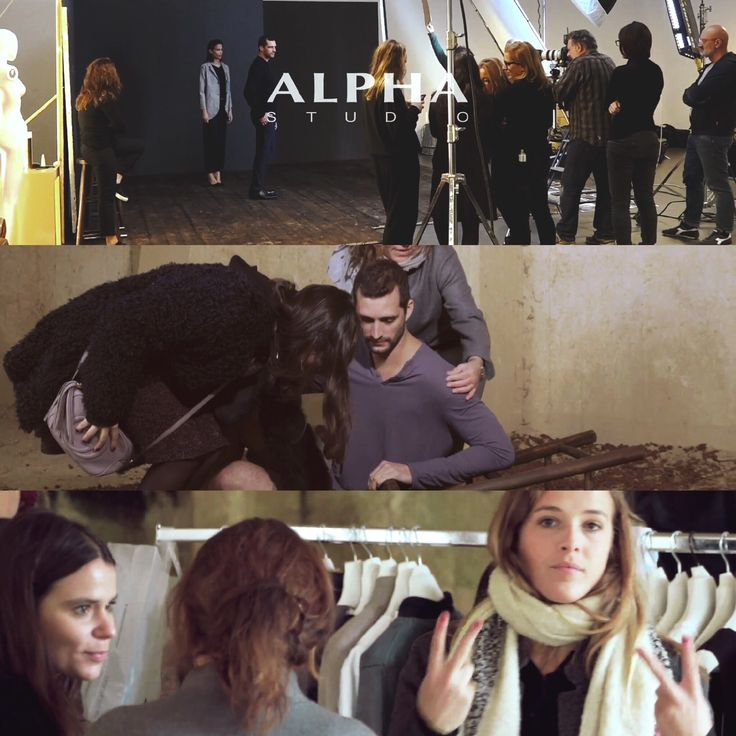 #AlphaStudio #ss2016 shooting backstage moments from the video! ow.ly/ZKNHb  #knitwear #fashion #backstage #shooting #video #summertime #style #stylish #florence #gauge #yarn #glamour #womenwear #womenstyle #menswear #mensfashion #outfit #mood
