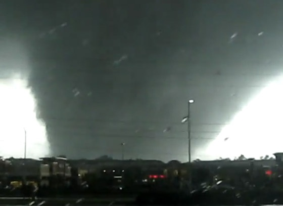 Tornados!  This one is a 4/27/11 Alabama Tornado.  We are actually having some today 3/3/12 here in Bama.  Hate them!