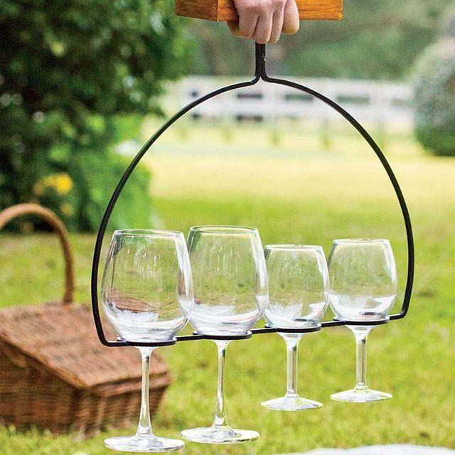 Fancy - Wine Flight Holder & Server