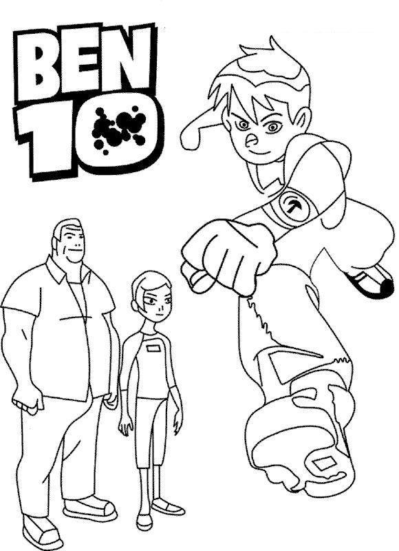 Read Morecartoon Coloring Pages Printable Ben 10 Cartoon