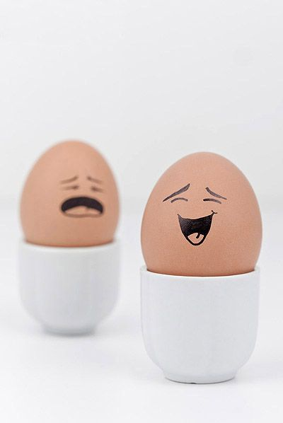 Funny face type cute eggs 11410