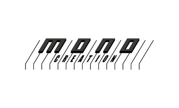 """音楽レーベル""""Mono Creation""""ロゴ"""