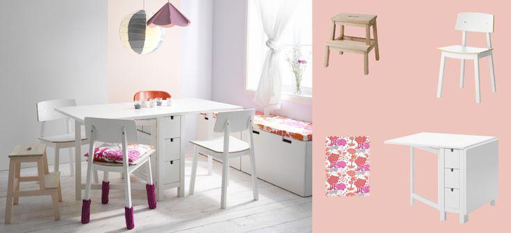 Oltre 25 fantastiche idee su sedie bianche su pinterest - Norden tavolo a ribalta ...