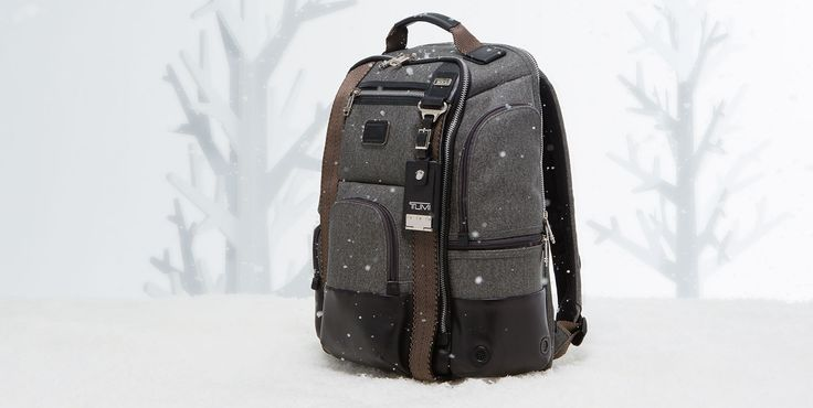 Tumi kingsville leather backpack, swiss gear hydration pa...