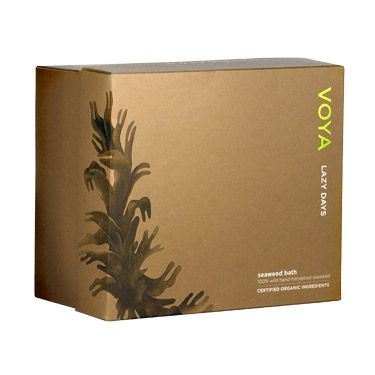 VOYA Lazy Days: The most incredible detoxifying bath ever. It'll make you sweat more than a tough workout (and you'll feel fantastic afterwards) while soothing, moisturizing, stimulating circulation, and potentially aiding with cellulite and weight loss. Can't say enough good things about it!