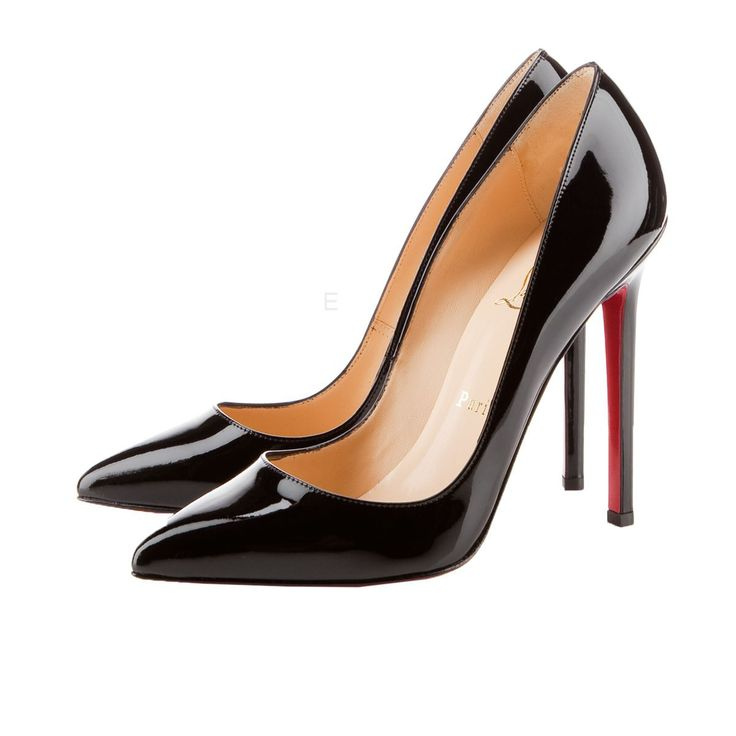 Christian Louboutin Pigalle 120mm Pumps Black Can Be Suitable To Different Disposition, Makes You Satisfied.