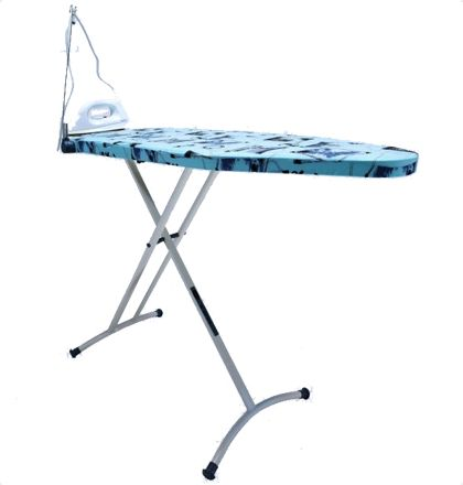 Bathla x press lite Ironing Boards The Bathla X-press Lite iron board is complemented by a convenient iron stand that not only looks cool and funky but is highly functional as well. It is equipped with stepless height adjustment facility that allows you to play with the height (from 6 inches above the floor to a full height of 3.5 feet) and adjust as per your convenience For More Details: http://www.mrthomas.in/bathla-x-press-lite-ironing-boards_677