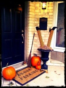 i did this, saw on City Line, super easy, pool noodles and stockings from dollar store.