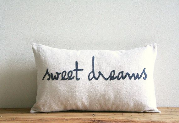 Hey, I found this really awesome Etsy listing at https://www.etsy.com/listing/197581390/sweet-dreams-decorative-pillow-cover-12