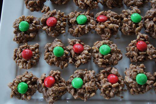 Christmas Chocolate Crackles