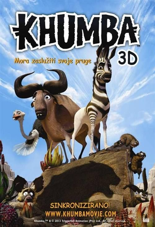 #Khumba releases in Croatia this Friday, October 31st.
