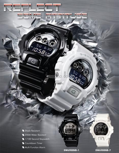 DW-6900NB Series  Original Casio Gshock Standard Digital Series