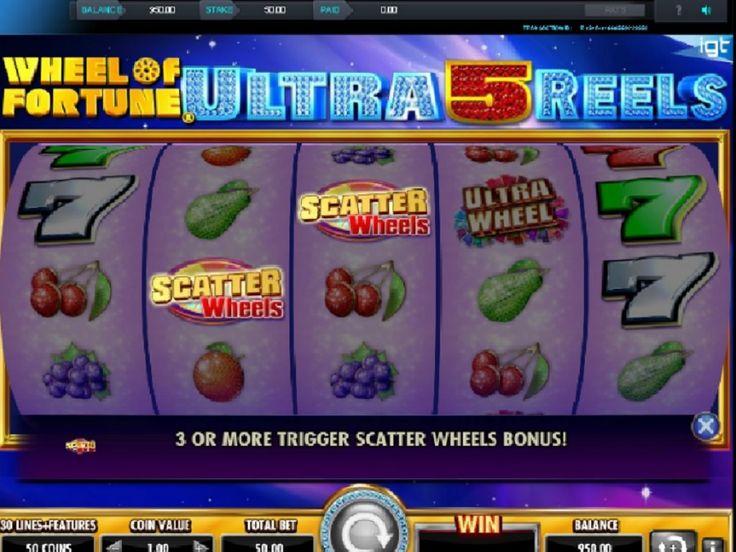Wheel of Fortune Ultra 5 Reels automat. Dens grafik og lydeffekter er af højt niveau, som kombineret med innovative funktioner tilbyde ekstraordinære gevinster #WheelOfFortune #Ultra5Reels #automat