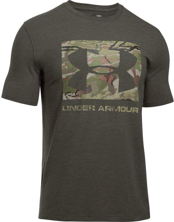 Under Armour Camo Knockout Short-Sleeve Logo T-Shirt - Men's