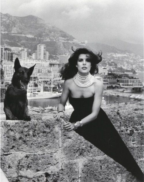 1988, Monte Carlo. Princess Caroline of Monaco. Photo by Helmut Newton (B1920-D2004)