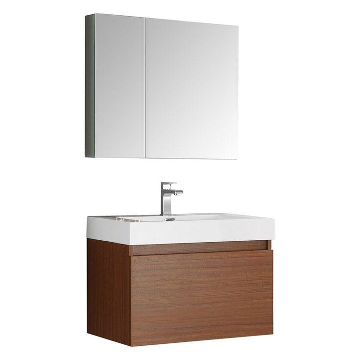 Fresca Mezzo 30 in. Single Bathroom Vanity - FVN8007TK