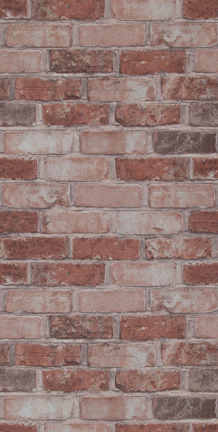 Meer dan 1000 idee n over bakstenen slaapkamer op pinterest baksteen slaapkamer baksteen en - Wallpaper voor hoofdeinde ...