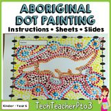 Aboriginal Dot Painting Activity Information slides and instructions