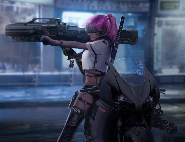 Mechanical girl 3, shuo SHI on ArtStation at https://www.artstation.com/artwork/Nexnd