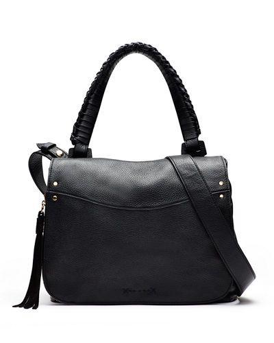 L635T Elizabeth and James Trapeze Leather Crossbody Bag