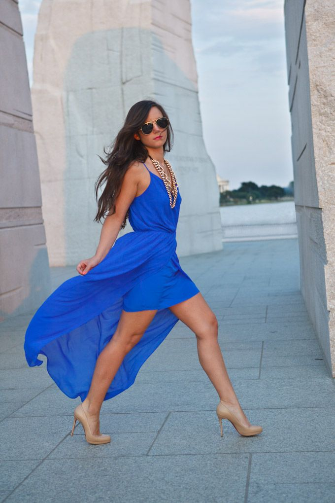 This dress is incredible! Searched everywhere for it, but seems to be sold out in blue.: Nude Shoes, High Low Dresses, Dresses Up, Concerts Outfits, Cobalt Blue, Nude Heels, Christian Louboutin, Rory Beca, Wraps Dresses