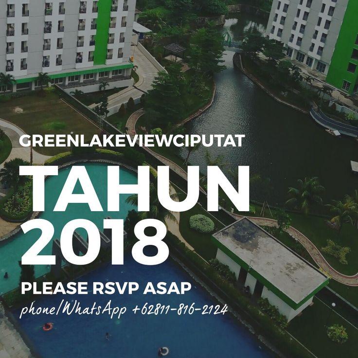 Paling hebat, paling hemat! GreenLakeView Apartment Ciputat Tangerang Banten Indonesia. Phone WhatsApp +62811-816-2124