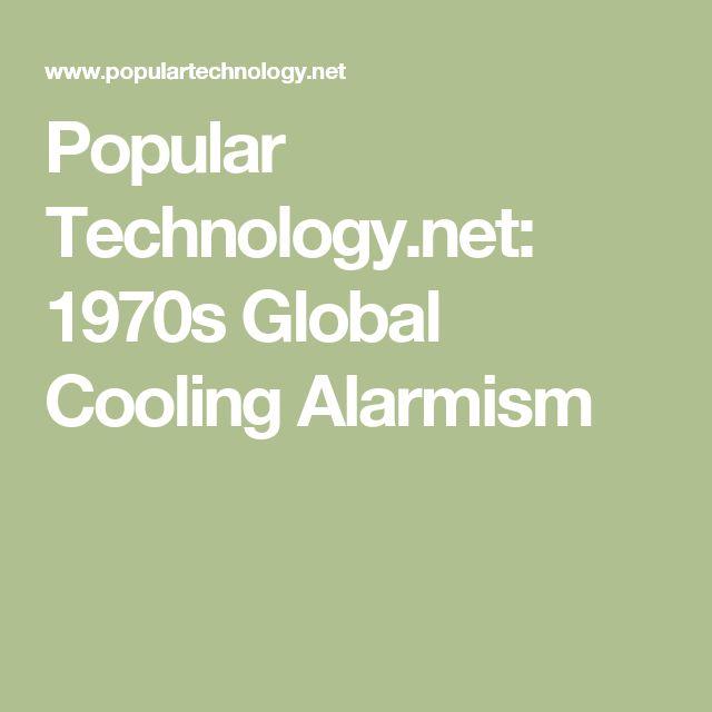 Popular Technology.net: 1970s Global Cooling Alarmism