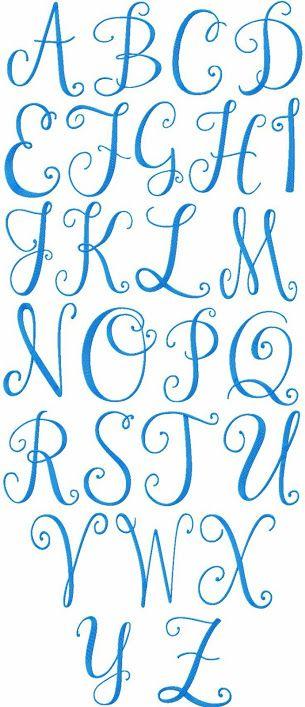 Alfabet, kalligrafie