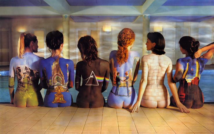 Pink Floyd - Back catalogue     Possibly my favorite artwork of all time. Nude beautiful women and amazing Pink Floyd album covers......Whats not to love??