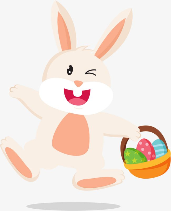 Cartoon Easter Bunny Png And Vector Easter Bunny Rabbit Png Bunny