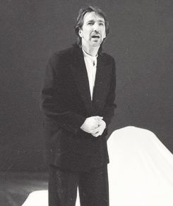 """Alan Rickman - From Shakespear's   """"As You Like It"""" ... 1985-86. Saw this production at RSC, Stratford-upon-AVon"""