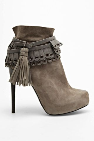 Phillip Lim neutral bootie heels