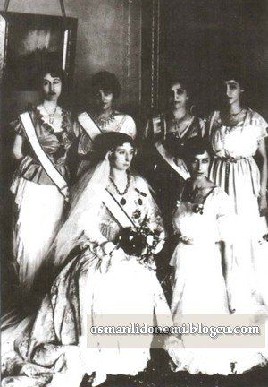 Sultan Vahideddin's daughter Princess Ulviye's wedding 1921