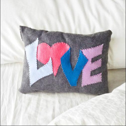 pillow design ideas fun family crafts felt pillow valentine s valentinesday valentinesdaycrafts crafting - Pillow Design Ideas