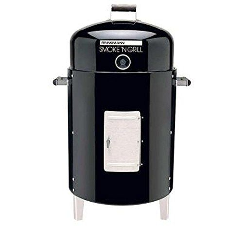 Brinkmann 810-5302-S Smoke 'N Grill Charcoal Smoker and Grill *** Click on the image for additional details.