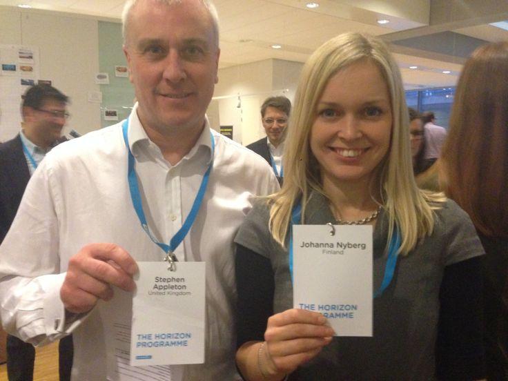 Learning partners: Stephen A & Johanna