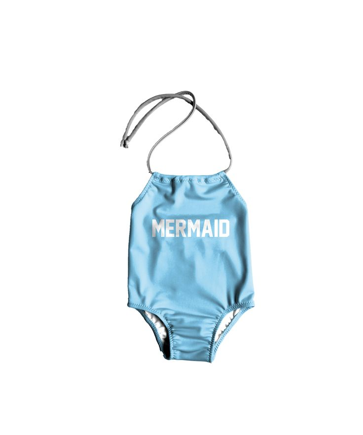 Girls One Piece Swimsuit ~ Toddlers Halter Bathing Suit ~ Toddler Girl Swimsuit ~ Toddler Kids Mermaid Swimsuit ~ Size 12M to 6T by LilBooApparel on Etsy https://www.etsy.com/listing/575601047/girls-one-piece-swimsuit-toddlers-halter