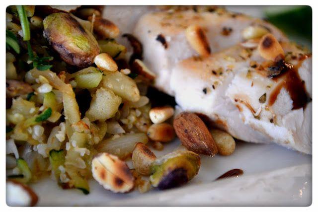 Tasty Health: Blomkålsris med kyckling & rostade nötter