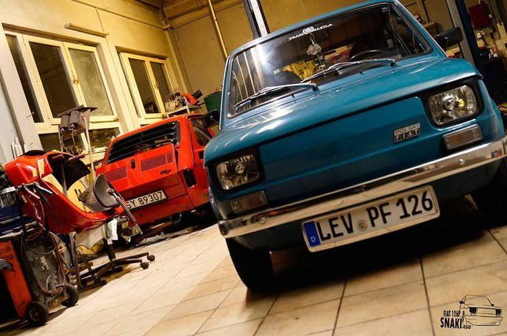 @snaki88 zajebał mi Malucha :< #Fiat126 #snaki #robcio #Maluch #oldschool #TeamAlFiLa