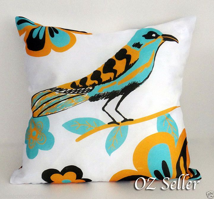 Double Sided Birds Cushion Covers Throw Pillowcases Decorative Pillow