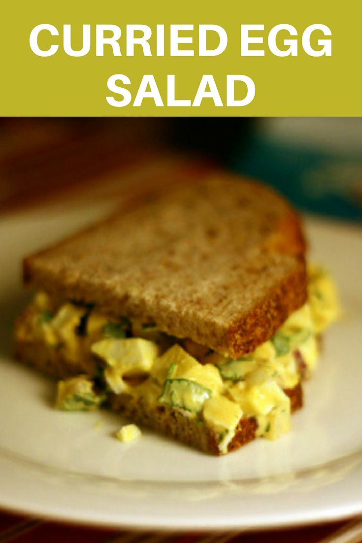 The perfect curried egg salad recipe? Here you go.