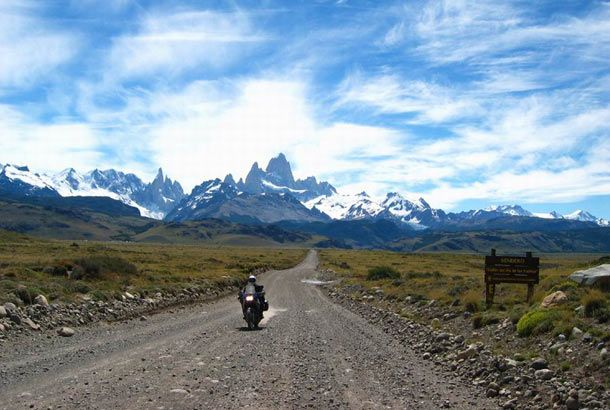 Ruta 40 - Western Argentina - If you want to drive from the southern tip of Argentina all the way up to Bolivia, this is the road you'll want to take. It crosses 20 national parks, 18 major rivers, and 27 passes in the Andes mountains.