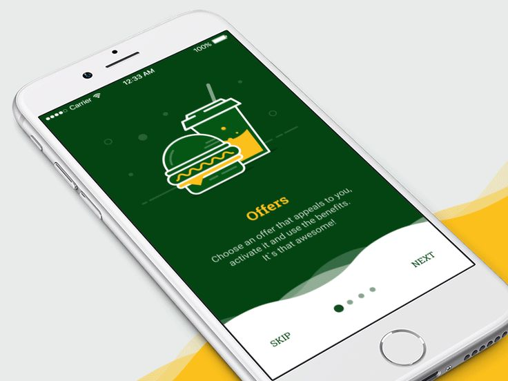 McDonalds Onboarding by Dmitry Mokhar #Design Popular #Dribbble #shots
