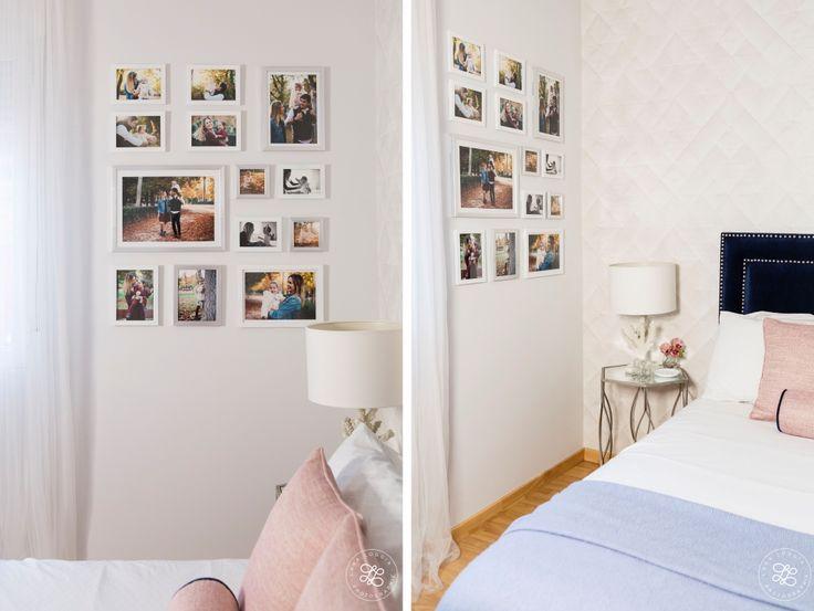 Cómo hacer una composición de fotos en la pared http://vivoandcapitone.com/una-composicion-fotos-la-pared/  #gallerywall #photogallerywall #picturegallerywall #photography #interiordesign