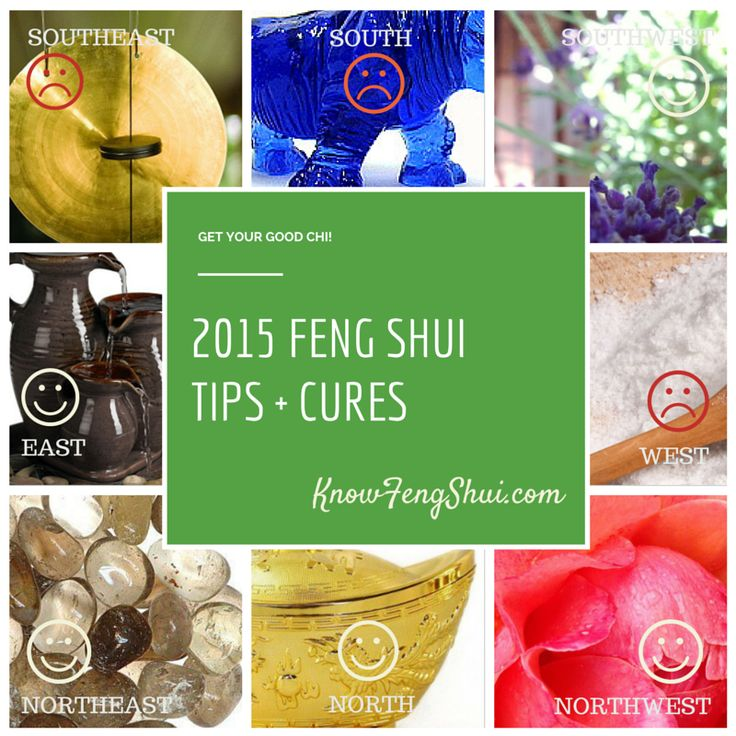 The good and the bad feng shui areas in 2015 plus feng shui tips and cures