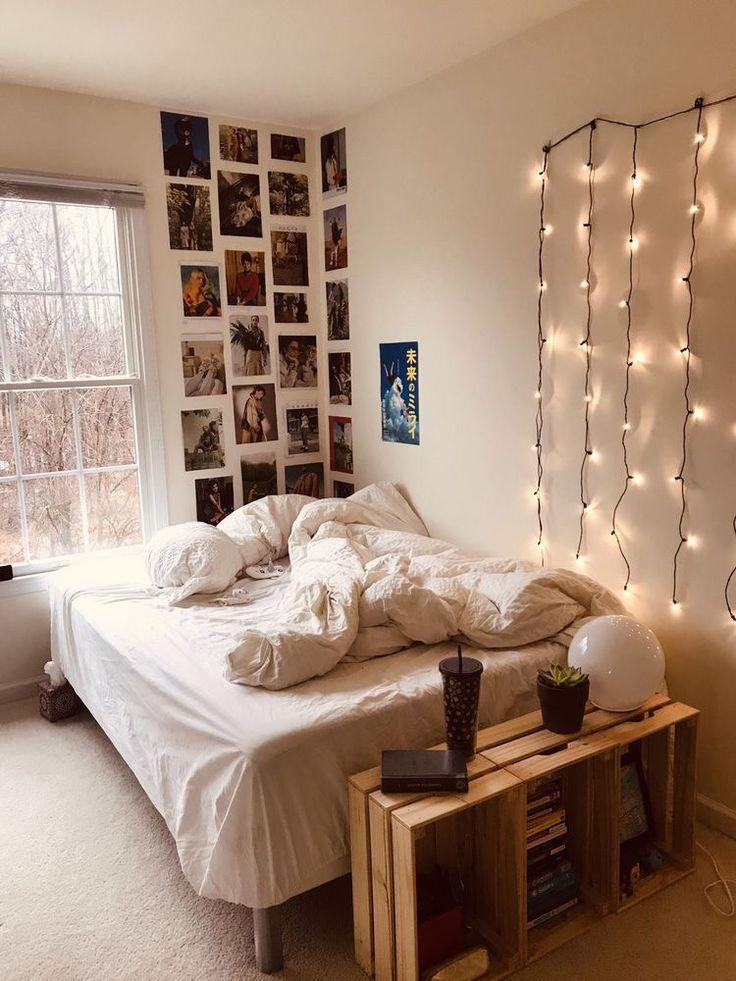 Wohnaccessoires Dorm Room Decor Small Room Bedroom Aesthetic Bedroom Modern aesthetic bedroom ideas